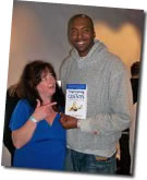 Annette Humphries & John Salley